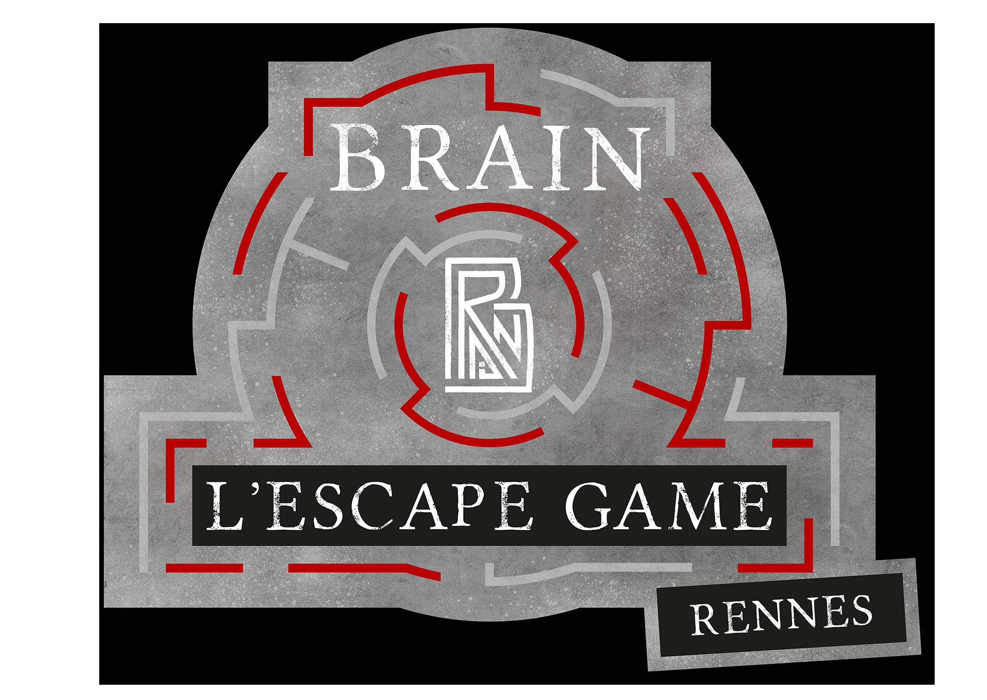 Logo Brain L'Escape Game Rennes