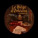 affiche le siège d'Orléans