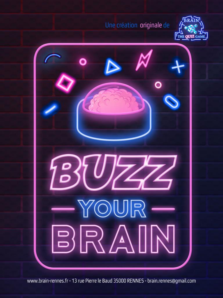 Affiche buzz your brain