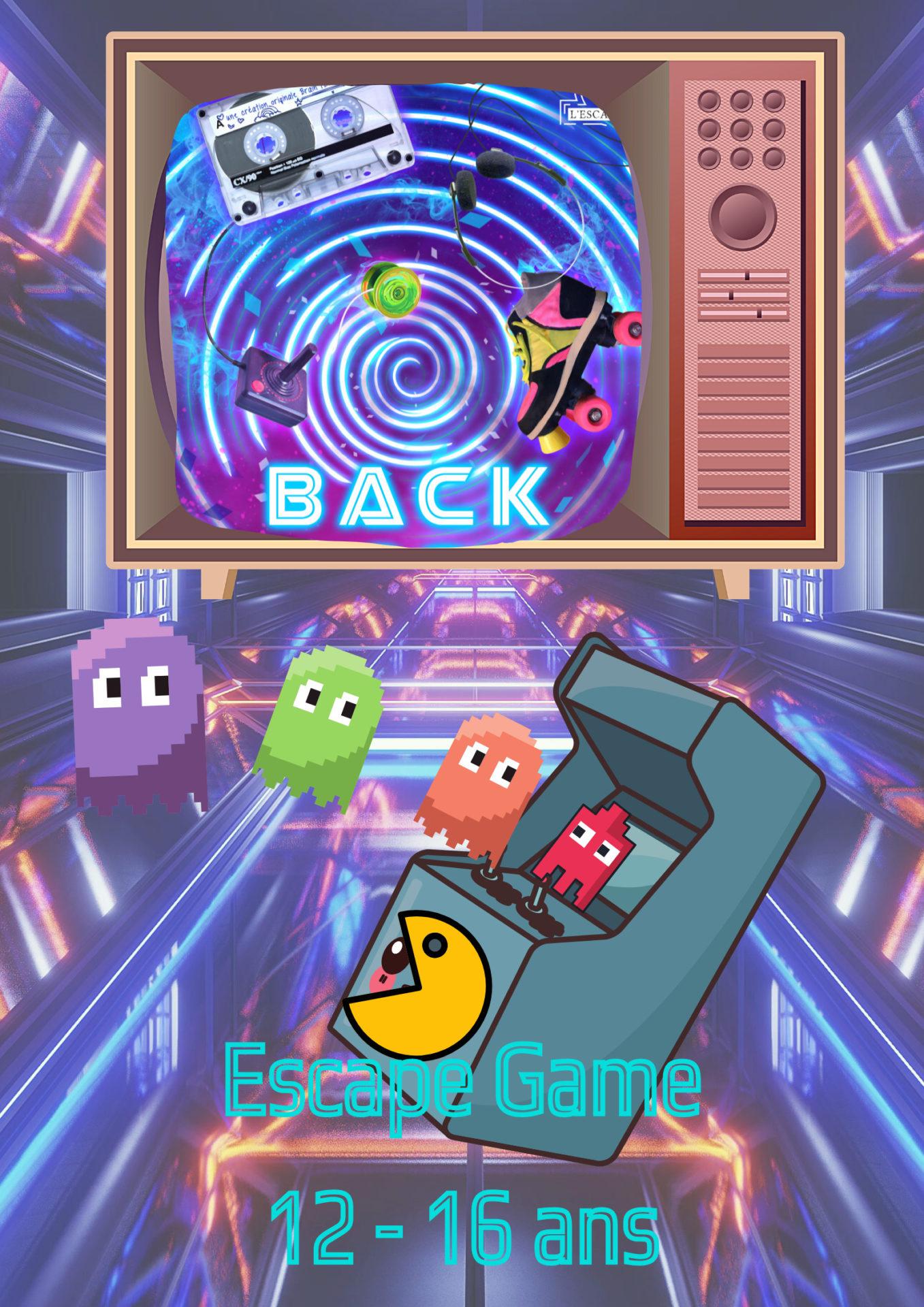 Back escape game enfants