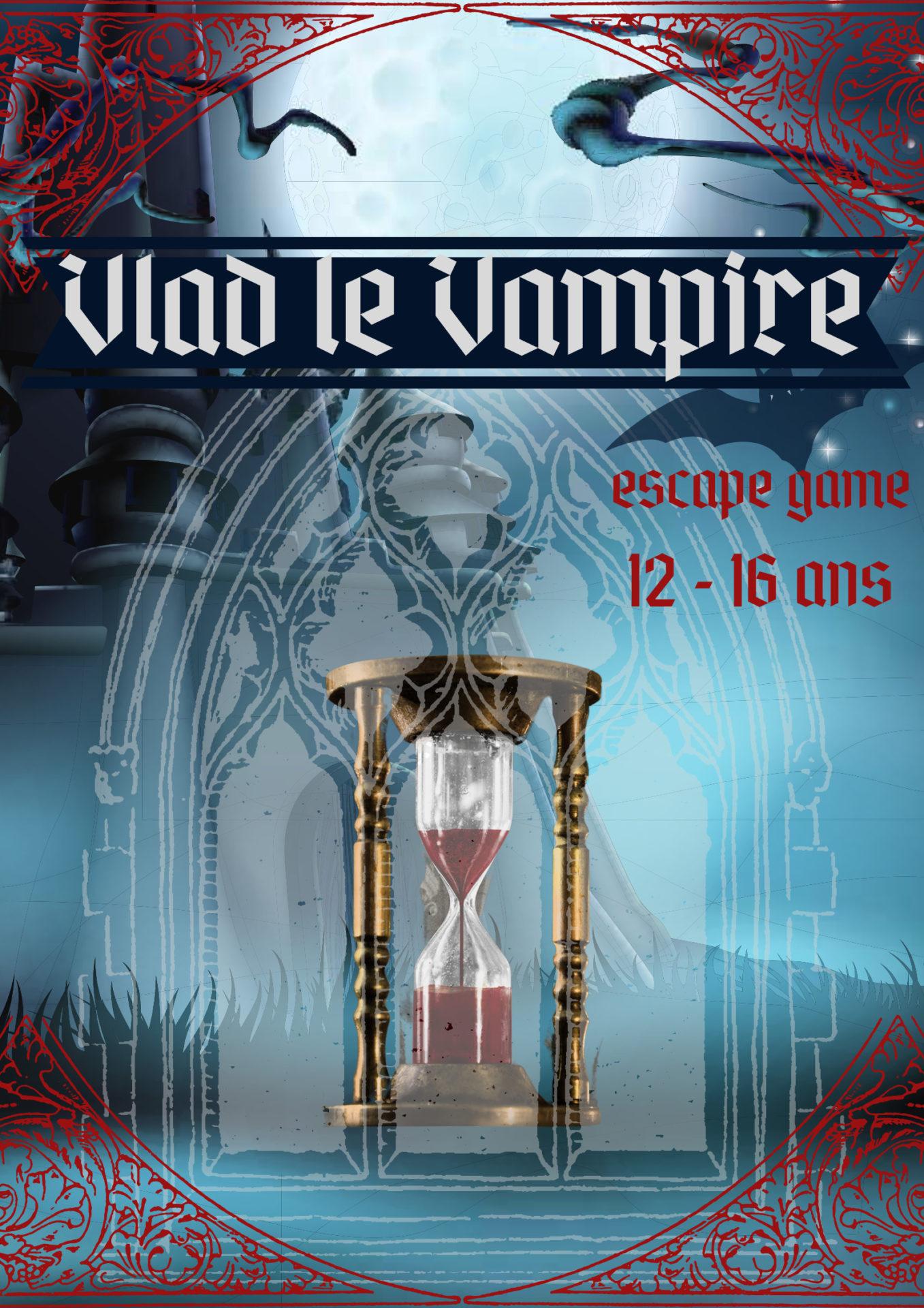 Vlad le Vampire escape game enfants